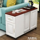 簡約歐式邊幾角幾沙發邊桌邊櫃儲物櫃儲物收納櫃可行動小茶幾 果果輕時尚NMS