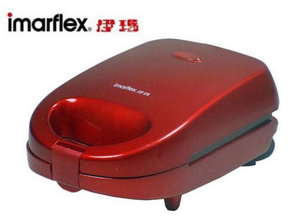日本 伊瑪 imarflex 三合一 活力點心機 鬆餅機 IW-733 甜甜圈 三明治 鬆餅 IW733
