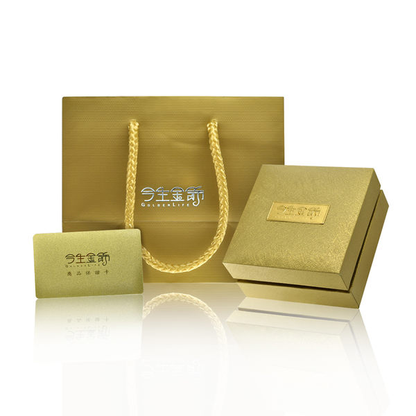 今生金飾   人緣必勝墜   時尚黃金墜飾