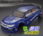 [9玉山最低比價網] 1/10競速漂移改裝車殼 PC完成版車殼RTR Subaru速霸陸 WRX10 190mm 帶車杯 車窗半透明