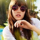 MICHAEL KORS 太陽眼鏡 圓框 水銀墨鏡 MK5017 10244Z 金 久必大眼鏡