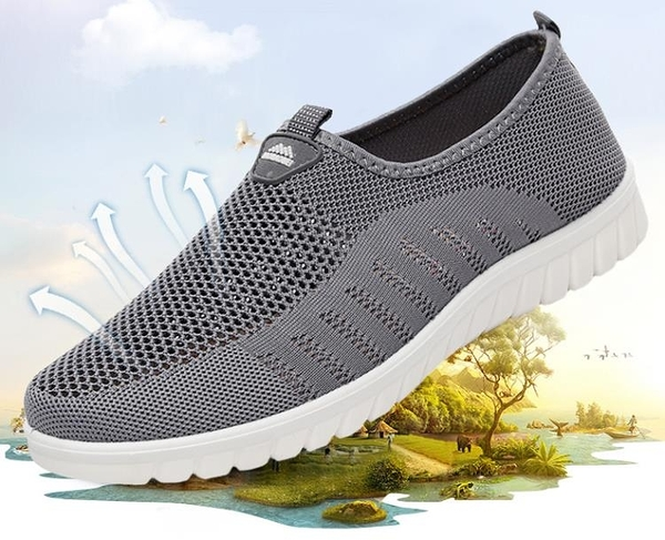 布鞋男春秋單鞋軟底休閒鞋