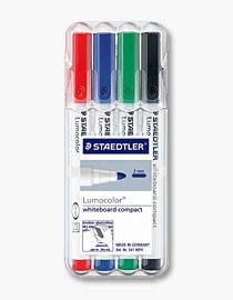 德國施德樓STAEDTLER輕巧白板筆*MS341WP4