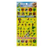 《sun-star》恐龍當家透明裝飾貼紙(CG)★funbox生活用品★_UA48667