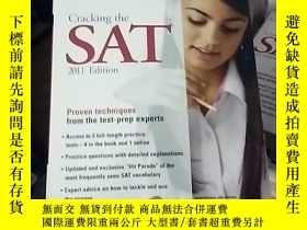 二手書博民逛書店Cracking罕見the SAT, 2011 Edition