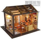 日本食玩圣誕創意diy小屋壽司店手工別墅模型玩具房子女孩禮物男【壹電部落】