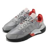 【海外限定】adidas 休閒鞋 Nite Jogger 銀 紅 反光 男鞋 Boost 中底 運動鞋 【ACS】 FV3787
