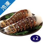生凍龍蝦身2入(300±20G/盒)X2【愛買冷凍】
