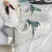 小白鞋女2021爆款新款2021年春季鞋子潮春秋學生單鞋運動老爹百搭 米娜小鋪