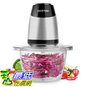 [107美國直購] 切菜機食物調理機 Food Chopper, BESTEK Electric Food Processor Meat Vegetables Fruit
