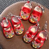 一周歲1虎頭鞋 中國風嬰兒鞋布鞋軟底虎頭學步鞋寶寶鞋子唐裝鞋男 幸福第一站