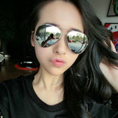 太陽眼鏡時尚蛤蟆鏡墨鏡駕駛開車個性司機眼鏡【多多鞋包店】j43