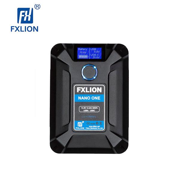 黑熊館 Fxlion NANO ONE V型接口電池 口袋 50WH USB TYPE-C D-TAP V口 電池