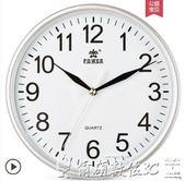掛鐘創意時鐘客廳電子掛表現代簡約鐘表時尚石英鐘 爾碩數位