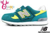 New Balance 313 男童鞋 麂皮 透氣 穩定後跟 運動鞋N8436#綠◆OSOME奧森童鞋/小朋友