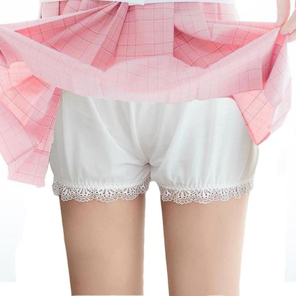 安全褲 jk安全褲女防走光不卷邊南瓜褲lolita夏薄款可愛日系保險打底短褲 非凡小鋪