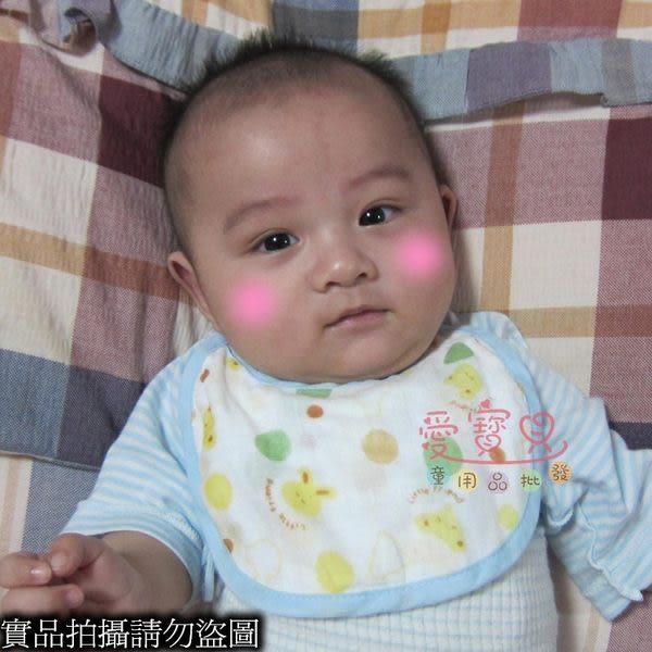 ◎愛寳貝◎出清區售完為止  A1246586日單全棉6層紗布嬰兒口水巾/圍兜越洗越軟