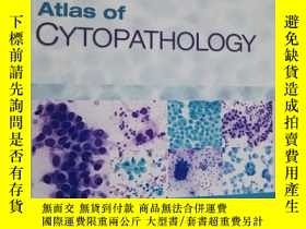 二手書博民逛書店Atlas罕見of Cytopathology: A Pattern Based ApproachY25437