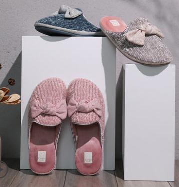 棉拖鞋女秋冬防滑居家鞋室內韓版可愛厚底家用臥室地板拖鞋春季新品