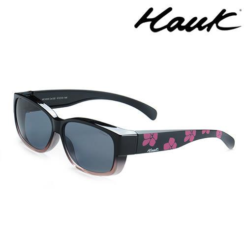HAWK偏光太陽套鏡(眼鏡族專用)HK1004-52