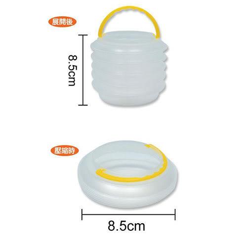 多功能壓縮水桶(小) CP-00013【愛買】