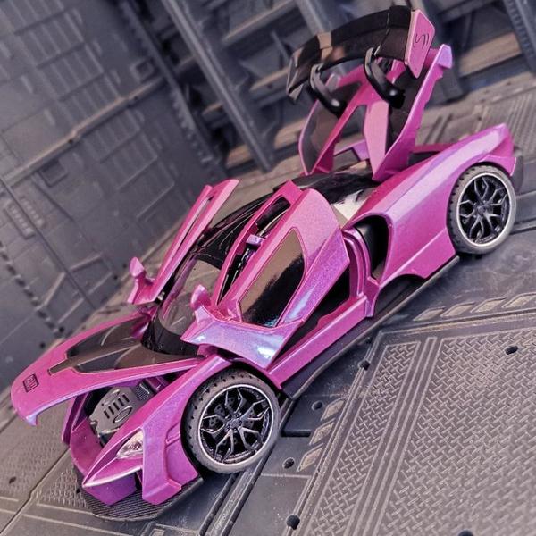 1:32仿真SNNA塞納邁凱倫模型金屬 汽車轎跑合金車模超跑收藏擺件 「夢幻小鎮」