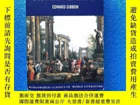 二手書博民逛書店The罕見History of the Decline and Fall of the Roman Empire奇
