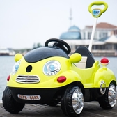 兒童電動車四輪遙控汽車小孩寶寶嬰兒可坐人玩具車搖搖手推車童車 星河光年DF