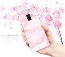 [A530F 軟殼] 三星 Samsung Galaxy A8 (2018) 手機殼 外殼 粉紅大理石