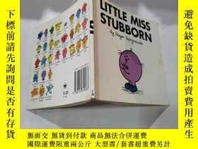 二手書博民逛書店little罕見miss stubbor n:倔強的小小姐26Y212829