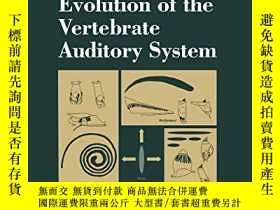 二手書博民逛書店Evolution罕見Of The Vertebrate Auditory SystemY364682 Geo