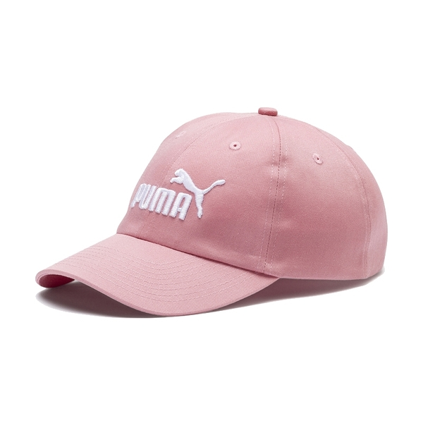 Puma 桃粉色 帽子 運動帽 老帽 遮陽帽 六分割帽 刺繡LOGO 運動帽 02241606