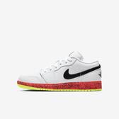 Nike Air Jordan 1 Low Grades (gs) [CV9548-100] 大童鞋 運動 籃球 白 黑