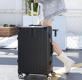 行李箱20寸女網紅ins潮拉桿箱萬向輪小型密碼旅行皮箱子24寸男學生 全館免運 快速出貨
