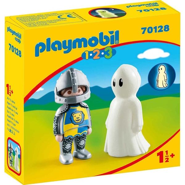 playmobil 1.2.3騎士與幽靈_ PM70128