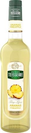 Teisseire 糖漿果露-鳳梨風味 Pineapple Syrup 法國頂級天然糖漿 700ml-有效期限:2021/4