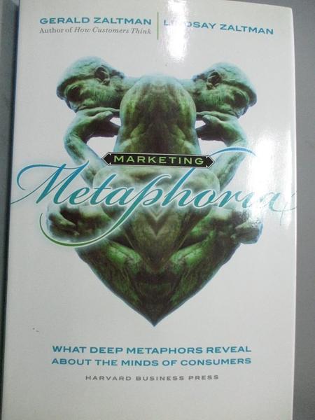 【書寶二手書T9/大學商學_QEA】Marketing Metaphoria: What Deep Metaphors