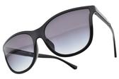 EMPORIO ARMANI 太陽眼鏡 EA4112 50178G (黑-漸層藍鏡片) 時尚水滴款 # 金橘眼鏡