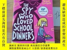 二手書博民逛書店the罕見spy who loved school dinnersY246207