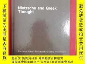 二手書博民逛書店Nietzsche罕見and Greek Thought (尼采