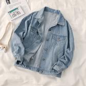 牛仔外套 網紅薄款女夏寬鬆韓版工裝ins潮流春秋衣新款 - 歐美韓熱銷