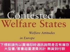 二手書博民逛書店Contested罕見Welfare StatesY255174 Svallfors, Stefan Stan