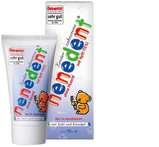 nenedent 木糖醇兒童牙膏-不含氟配方 50ml