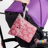 coccolle嬰兒尿布收納袋 寶寶裝尿不濕防水掛袋包外出便攜置物