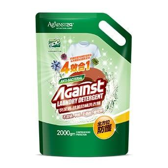 快潔適抗菌防螨洗衣精補充包-2000ml