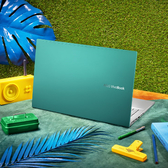 華碩 S433FL-0228E10210U 14吋輕薄獨顯筆電(綠)【Intel i5-10210U / 8GB / 512G SSD+32G OPTANE / W10】