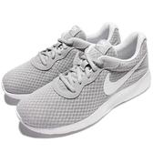 Nike 休閒鞋 Wmns Tanjun 灰 白 女鞋 百搭 基本款 運動鞋 【ACS】 812655-010