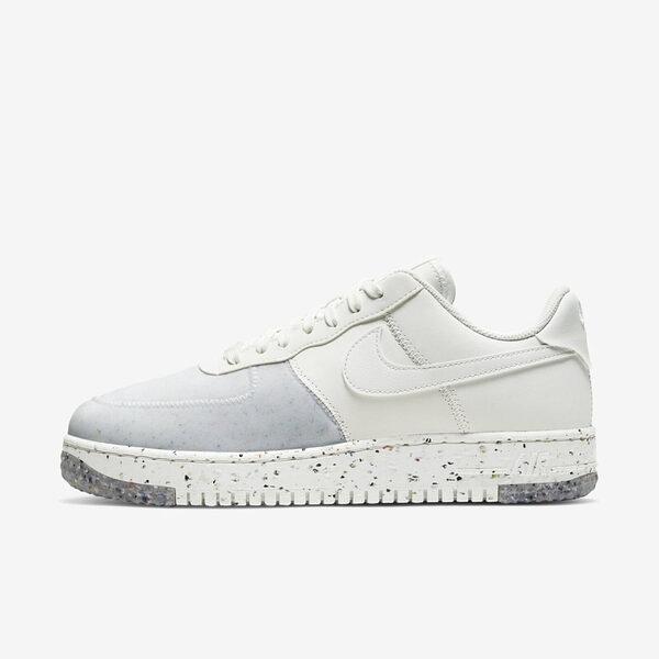 Nike Air Force 1 Crater [CZ1524-100] 男鞋 運動 休閒 慢跑 支撐 情侶 穿搭 白灰