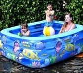 充氣泳池 兒童成人游泳池充氣家庭加厚家用小孩大人超大戶外大型 果果生活館