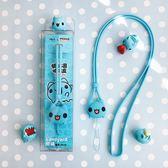 【WaKase x 貓貓蟲咖波 CAPOO】減壓手機掛繩 掛脖 手機繩